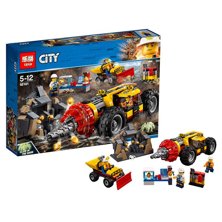 Lego Cỗ máy khai thác mỏ - lepin 02101