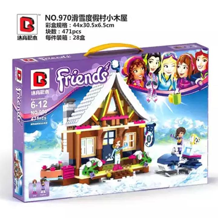Lego Friends chủ đề giáng sinh - G970