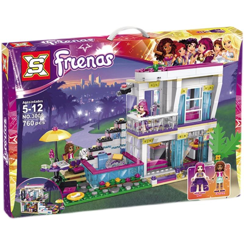 Đồ chơi Lego Friends Biệt thự của các ngôi sao 760 chi tiết - SX3008