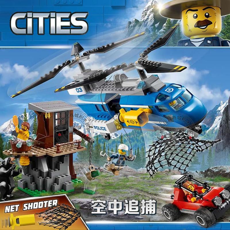 Lắp ráp Lego City biệt đội đuổi bắt trong rừng 332 miếng ghép - LELE 28012