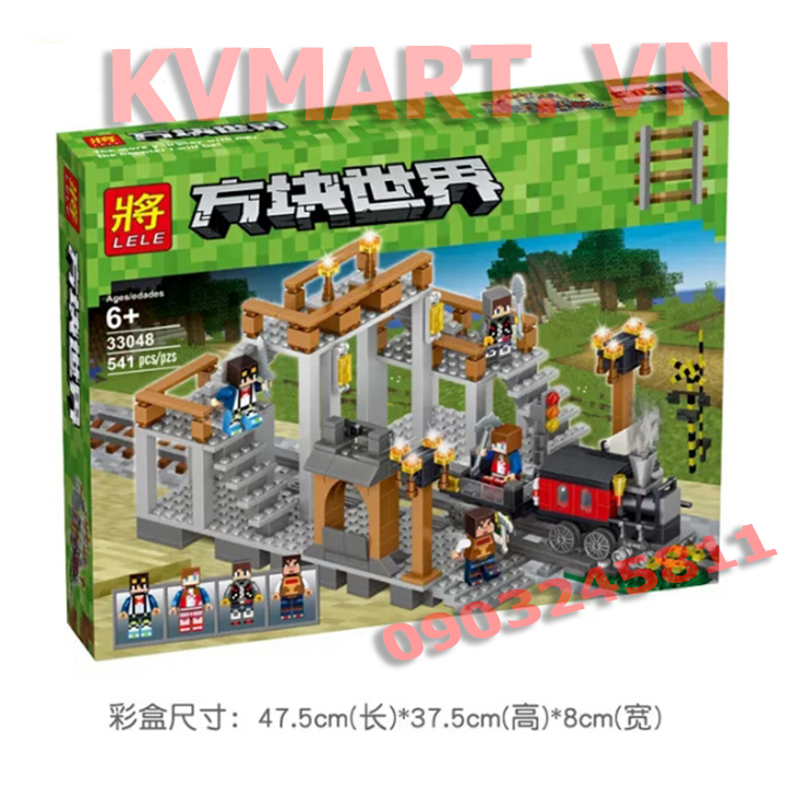 Lego my crap Ga xe lửa - Lele 33048
