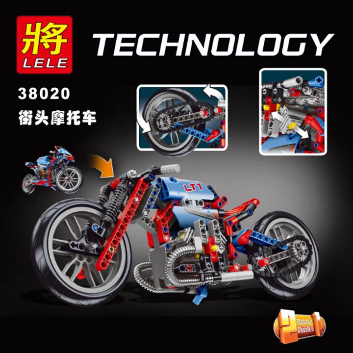 Lego xe máy Technology - Lele 38020
