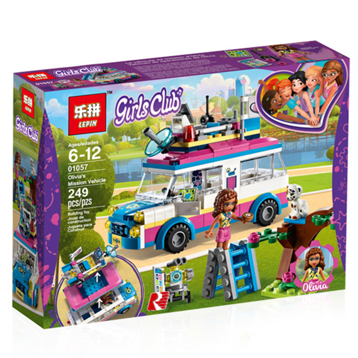 Lego Friends chiếc xe bán kem - lepin 01057