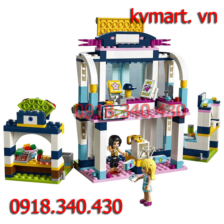 Lego Friends đấu trường thể thao của stephanie - Lepin 01061