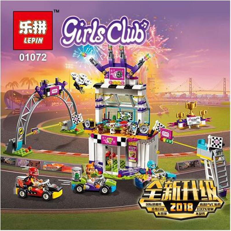 Láp Ráp Lego Friend Ngày Hội Đua Xe 725 chi tiết - Lepin 01072