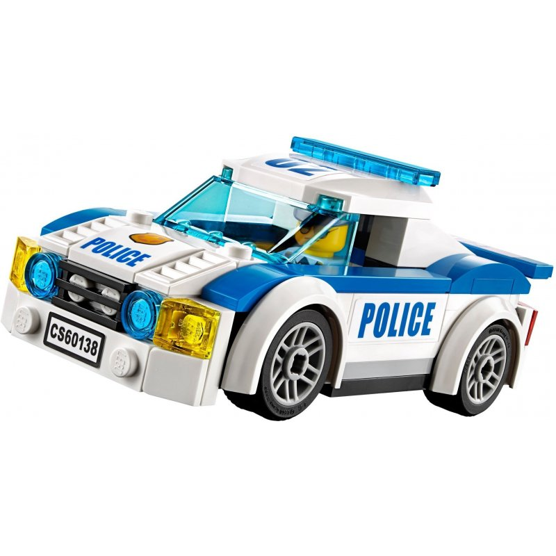Đồ chơi lắp ráp Lego City đuổi bắt tốc độ cao - Lepin 02018