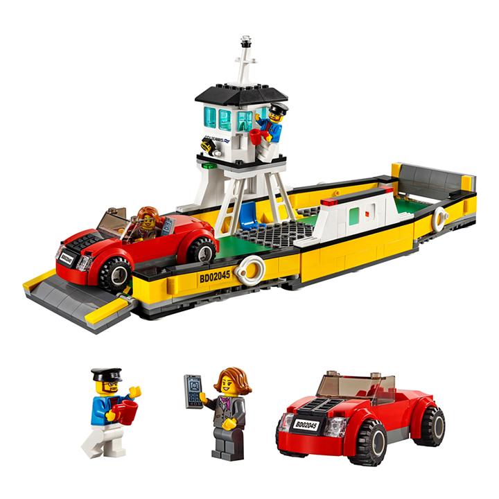 Lego citi Phà chở xe - Lepin 02045