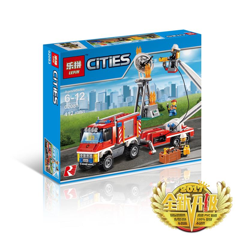 Đồ chơi lắp ráp Lego City đội cứu hỏa - Lepin 02083