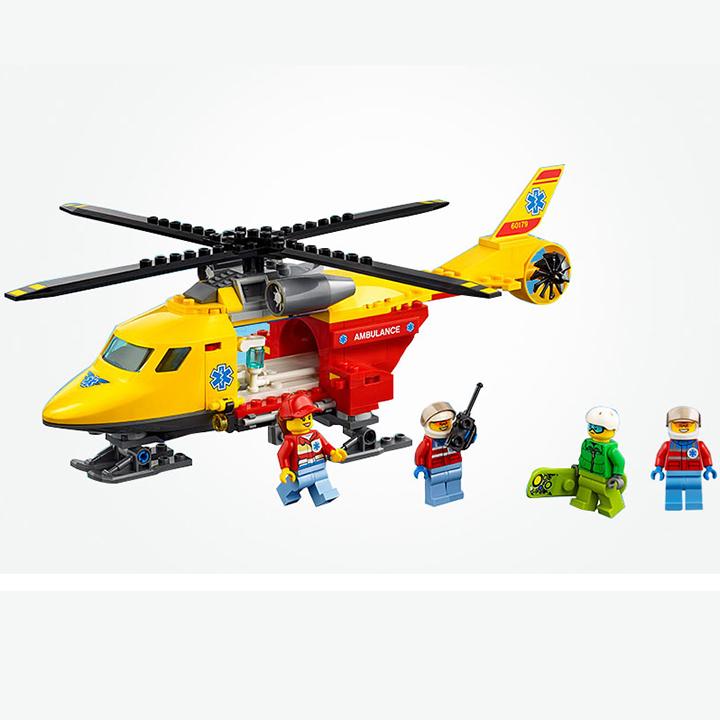 Lego Cities Máy bay cứu hộ - Lepin 02090