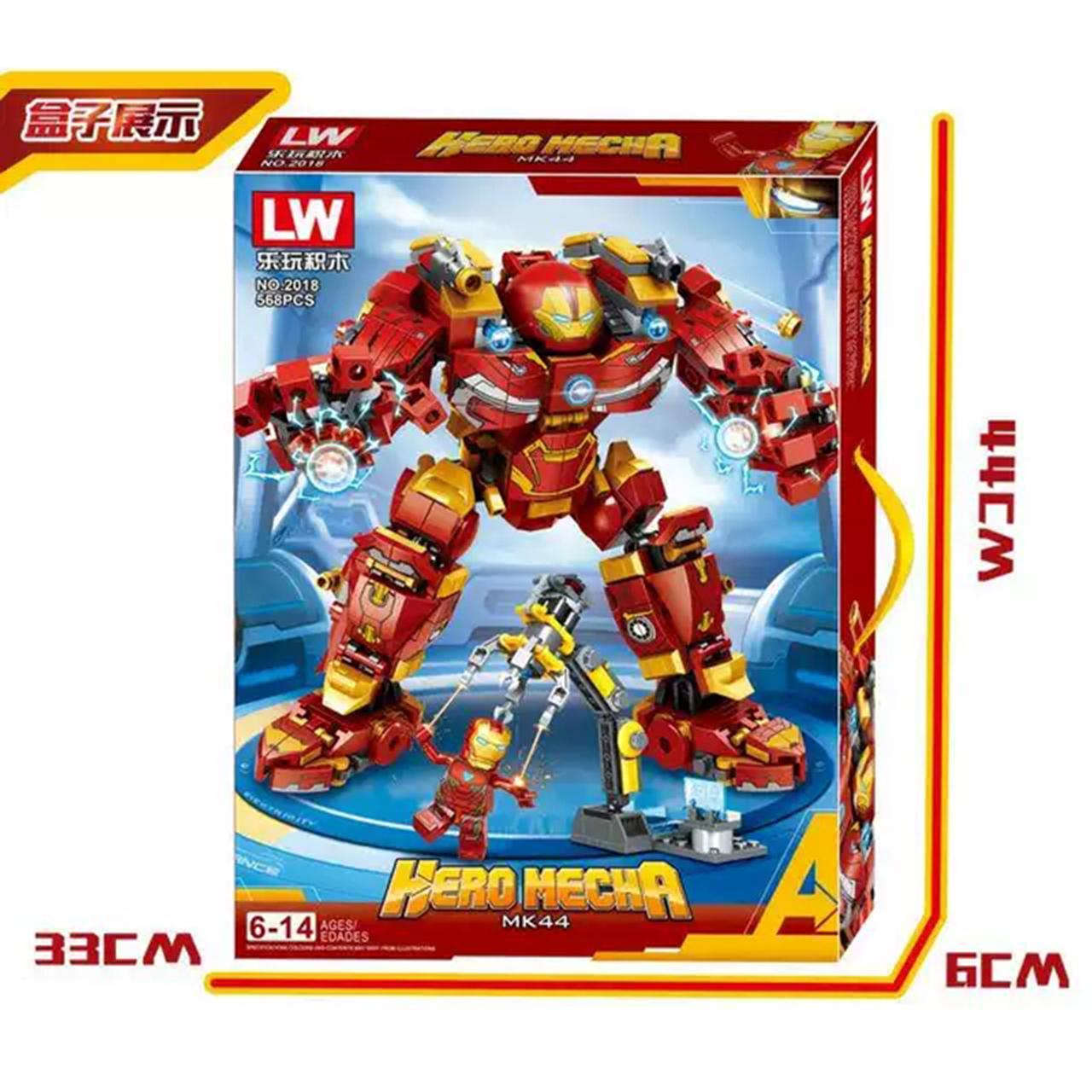Lego Ninjago Iron Man Người Sắt - LW2018