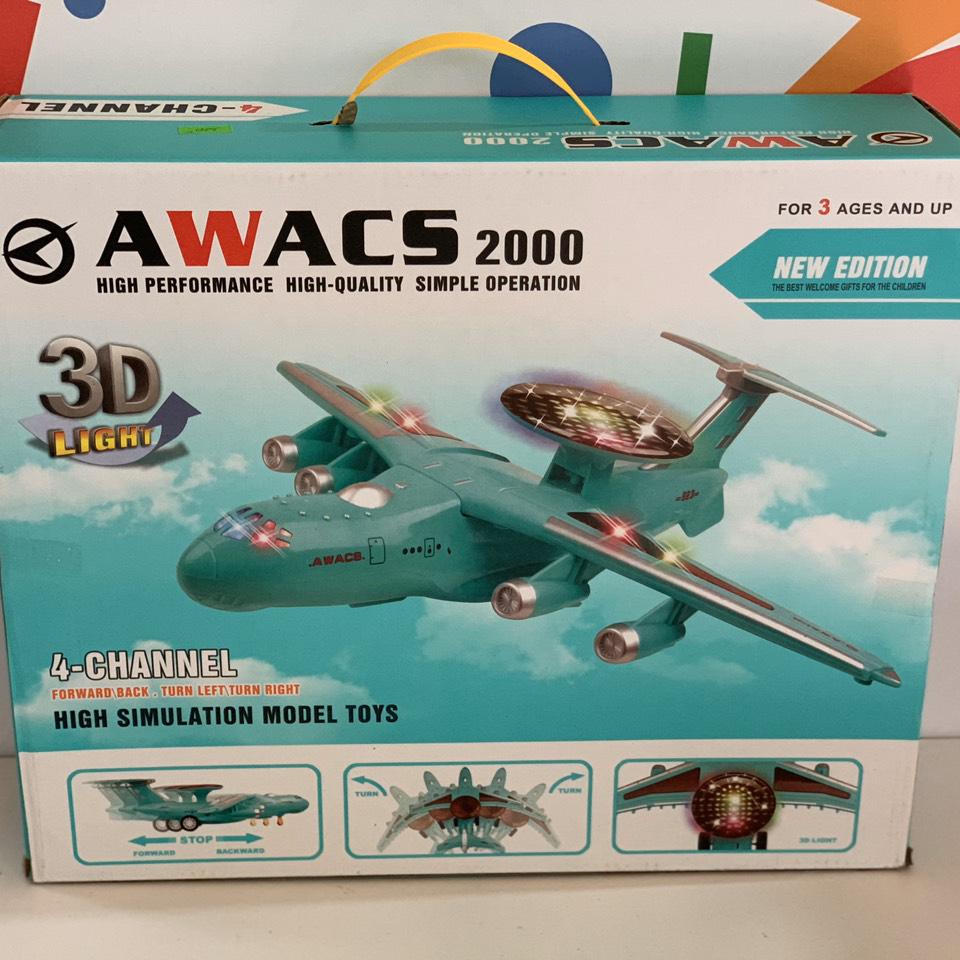 MÁY BAY ĐIỀU KHIỂN KHIỂN TỪ XA - AWASC 2000