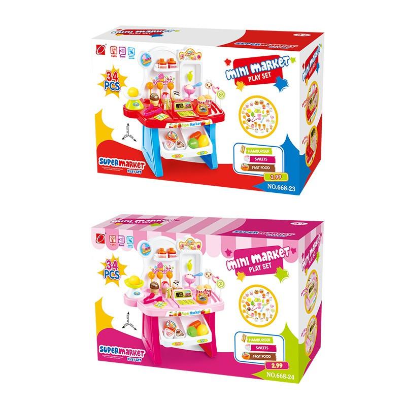Bộ đồ chơi siêu thị mini 66824