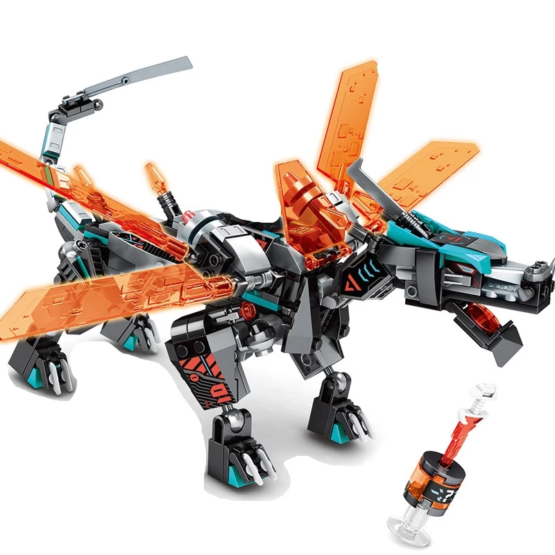 Đồ chơi lắp ráp lego Ninjago Đế chế Rồng Unagami Season - MG152