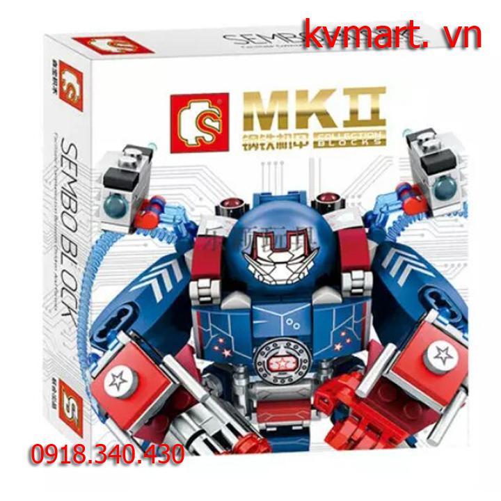 Lắp ráp robot MK2