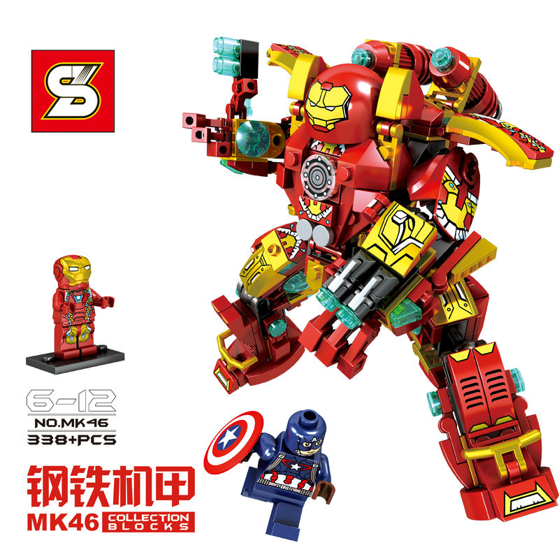 Lắp ráp robot MK46
