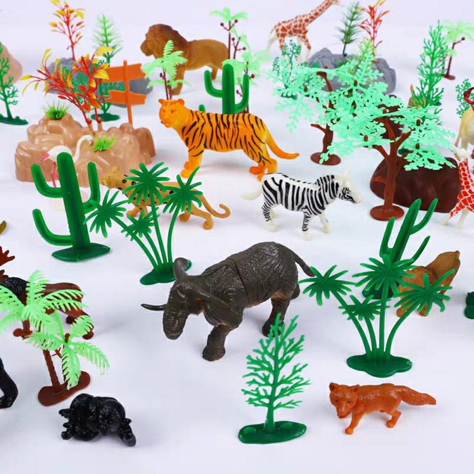Bộ đồ chơi mô hình khu rừng 103 chi tiết