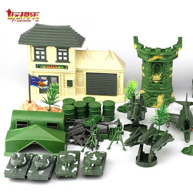 Bộ đồ chơi mô hình quân sự 130 chi tiết