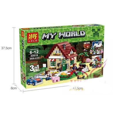 My world 33016 - Ngôi nhà 4 mùa