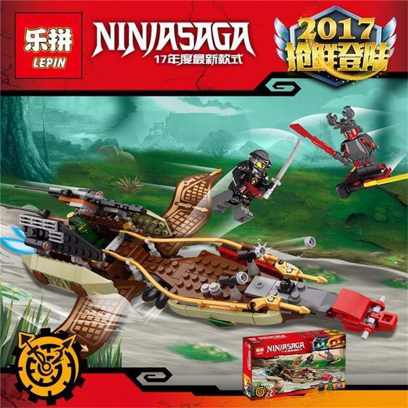 Lắp ráp Ninjago lepin 06045 - Thuyền chiến của ninja
