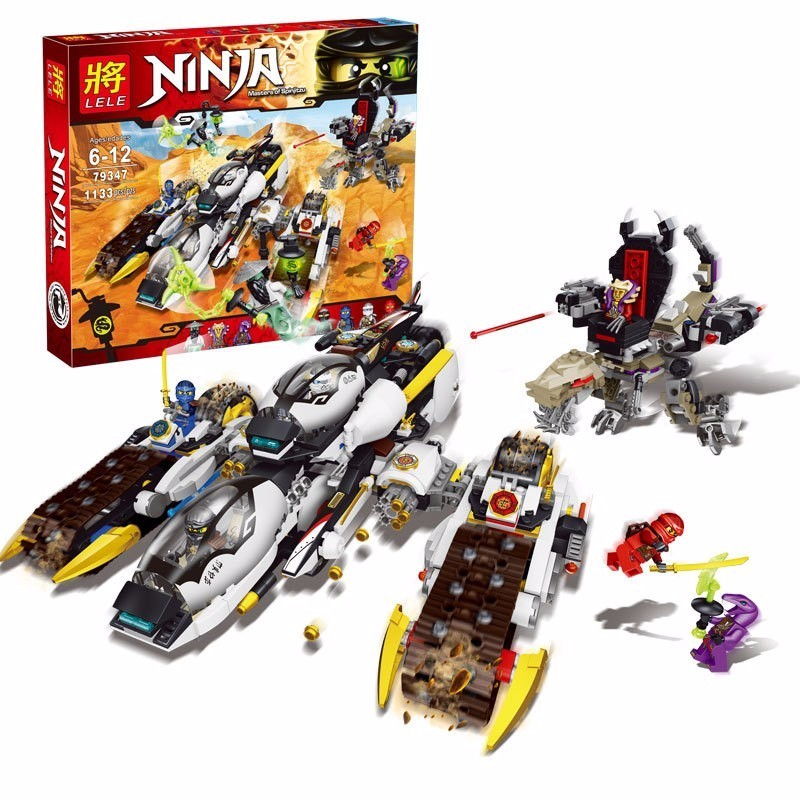 Lắp Ráp Ninjago 79347 Phi Cơ Chiến Đấu Bí Mật của Ninjago