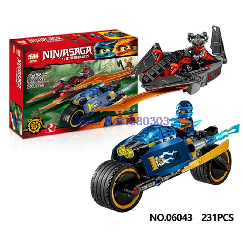 Lắp ráp Ninja SaGa06043 (lepin)