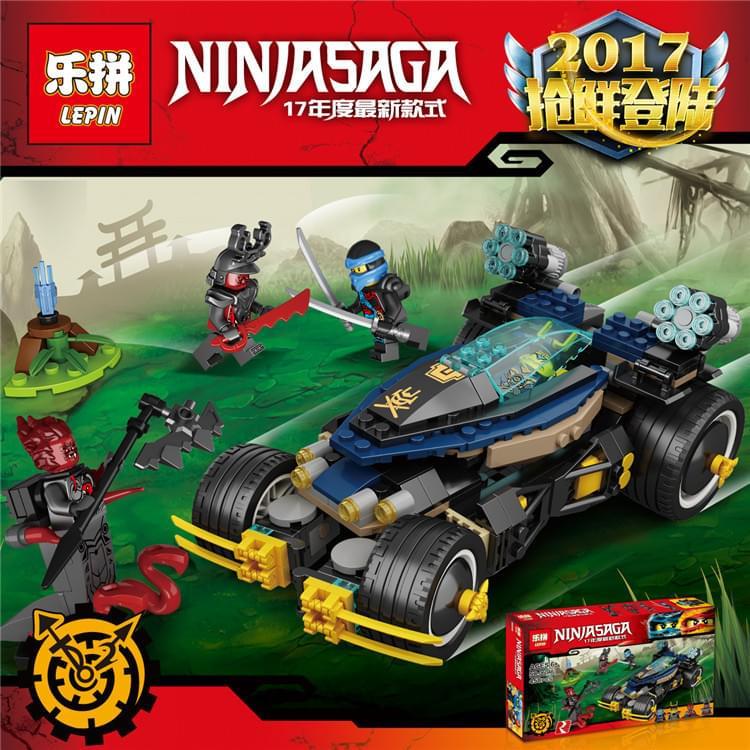 Lắp ráp Ninja SaGa06046 (lepin)