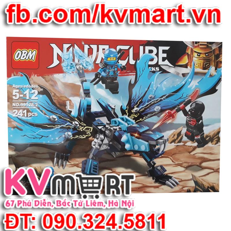Combo 4 hộp lego ninja rồng - OBM 90128