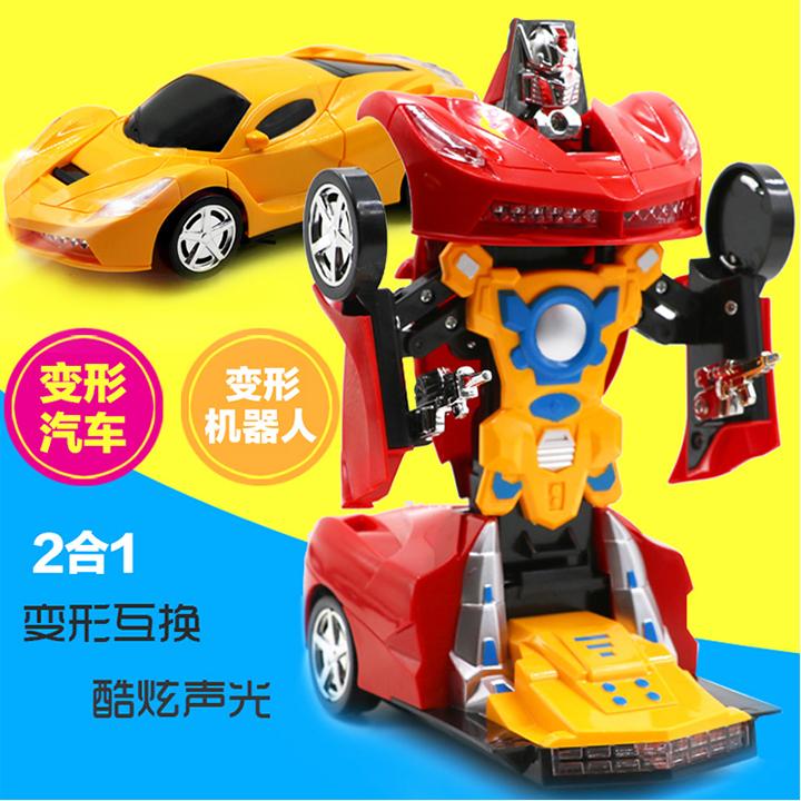 Xe ô tô biến hình robot