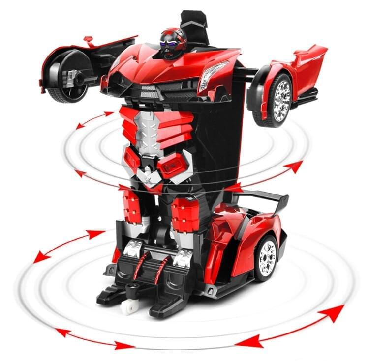 Xe oto điều khiển biến hình siêu nhân -  MD815