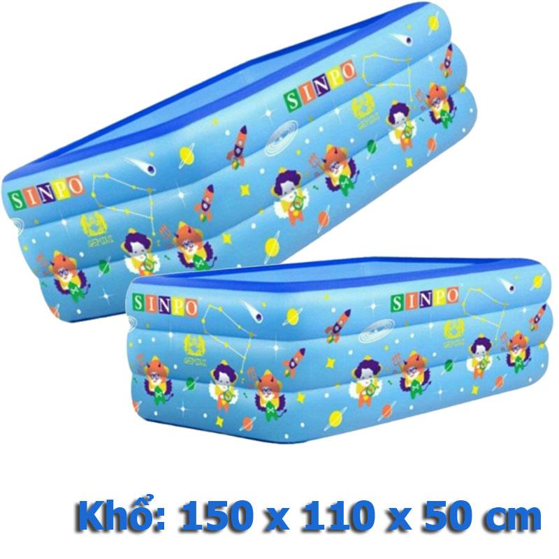Bể bơi phao ba tầng khổ 150 cm
