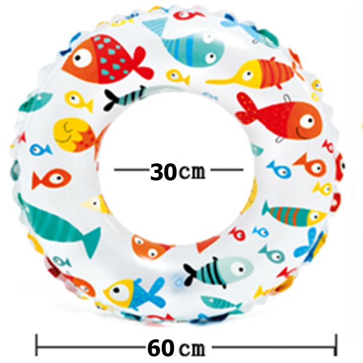 Phao bơi hình tròn size 60cm
