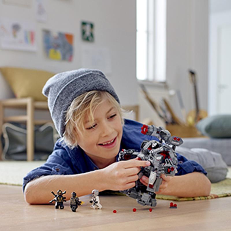 Lắp ráp Lego Chiến Giáp Siêu Anh Hùng Đại Chiến - PRCK 64012
