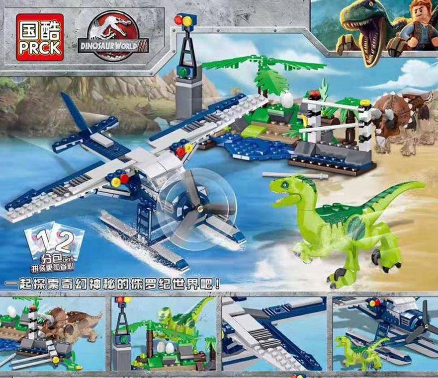 Đồ chơi lắp ráp Lego KẾ HOẠCH CỨU HỘ THỦY PHI CƠ 359 chi tiết - PRCK 69012