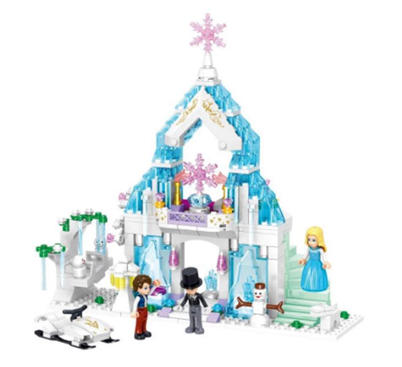 Đồ chơi Lego tòa lâu đài tuyết của ILAYA - ZHEGAO QL1147