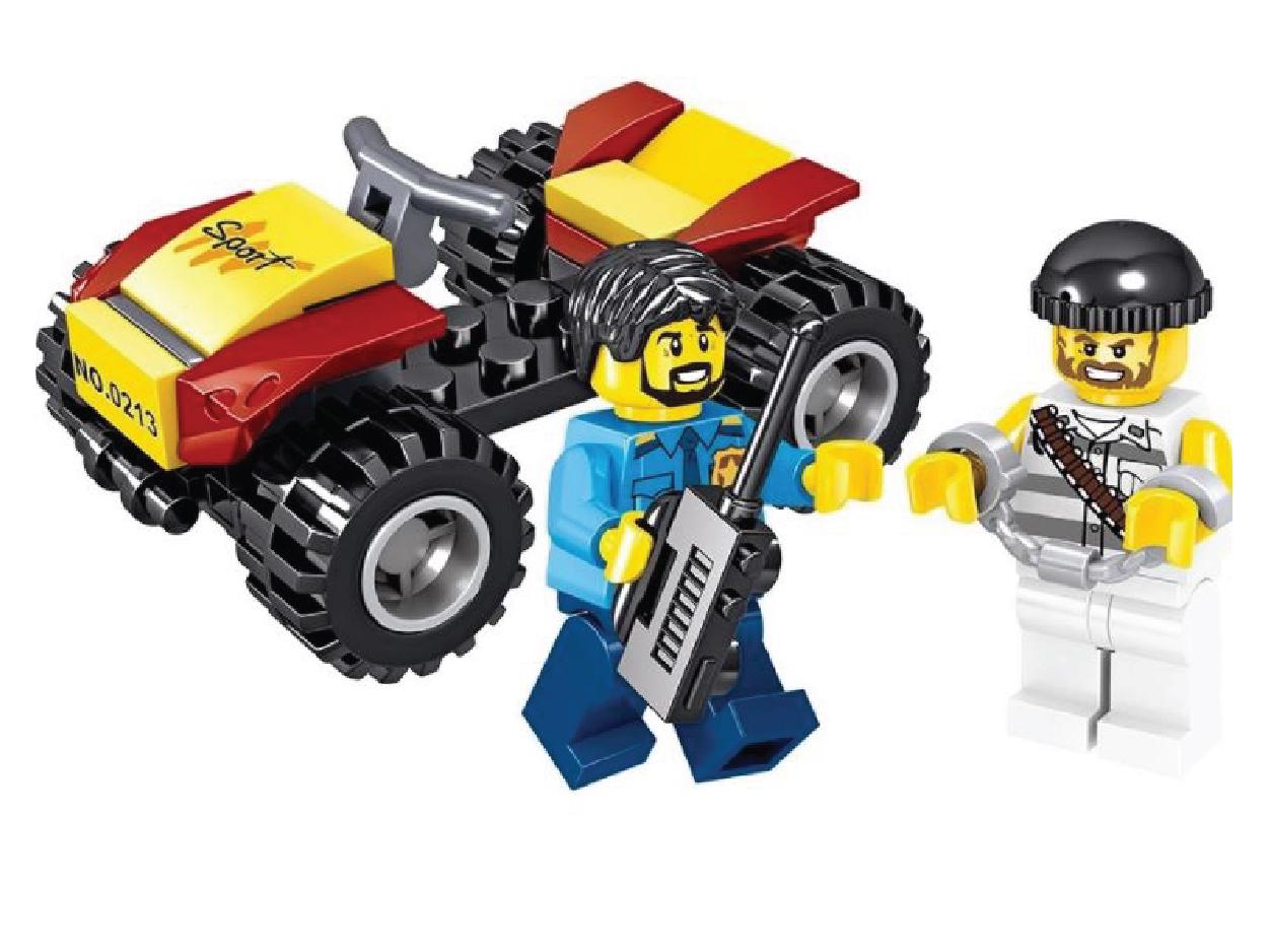 Lắp ráp Lego City máy bay cảnh sát 285 miếng ghép - QL0213