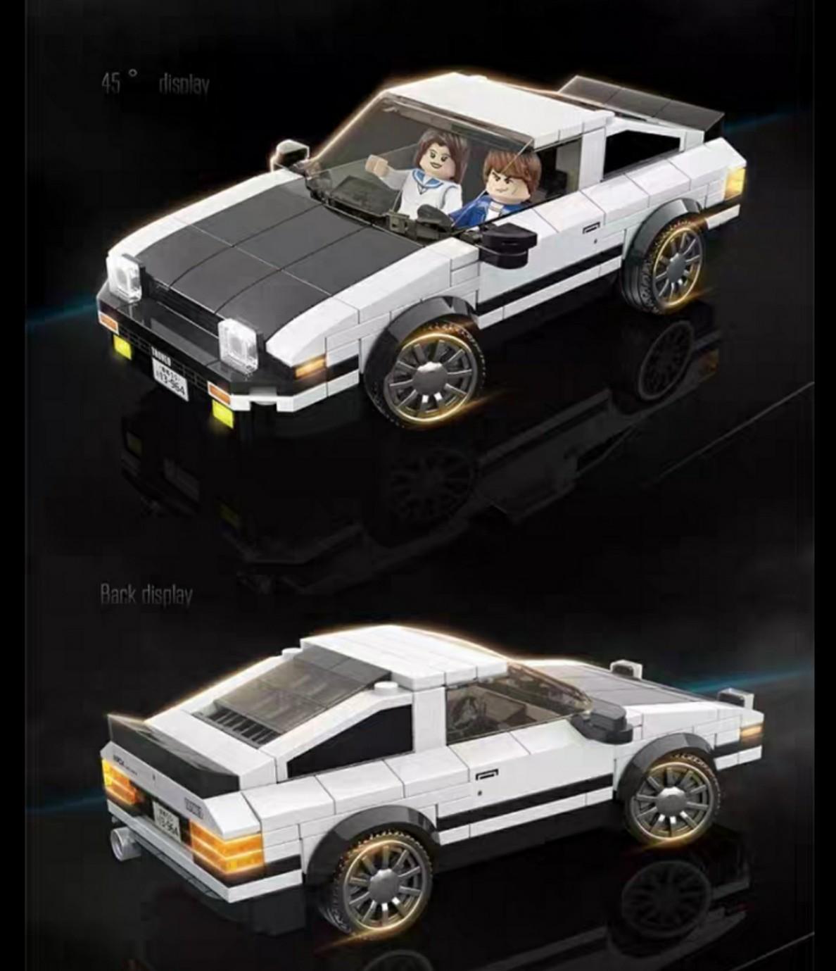 Lắp ráp Lego xe thể thao Racing 322 chi tiết - QUAN GUAN 100142