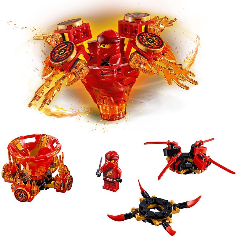 Lắp Ráp Lego Con Quay Lốc Xoáy Ninjago - Bela 11152