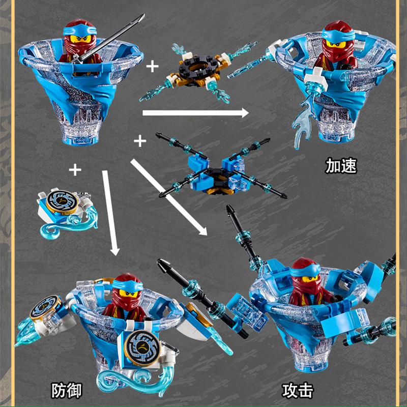 Lắp Ráp Lego Con Quay Lốc Xoáy Ninjago - Bela 11154