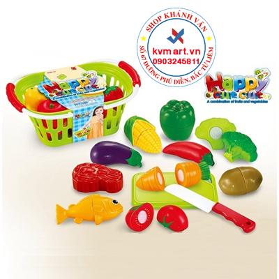 đồ chơi cắt ghép rau củ quả cao cấp