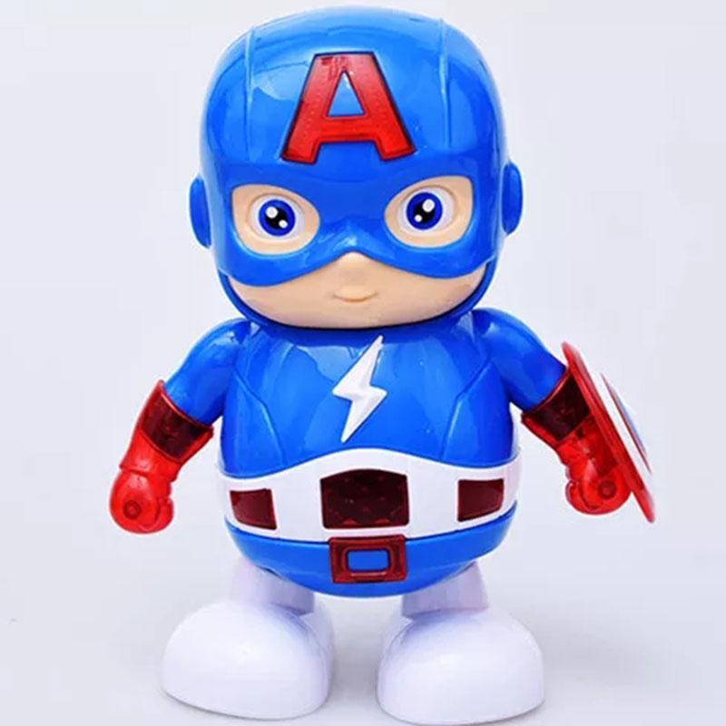 Đồ chơi robot siêu anh hùng phát nhạc