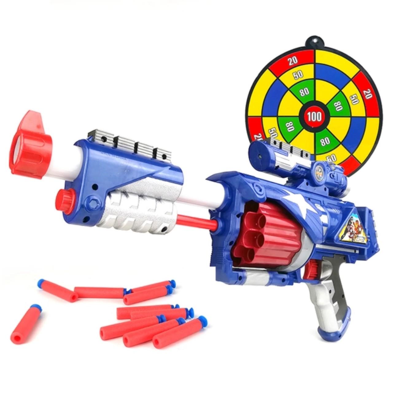 Đồ chơi vận động súng bắn đạn xốp mút kính - Blaster SB361