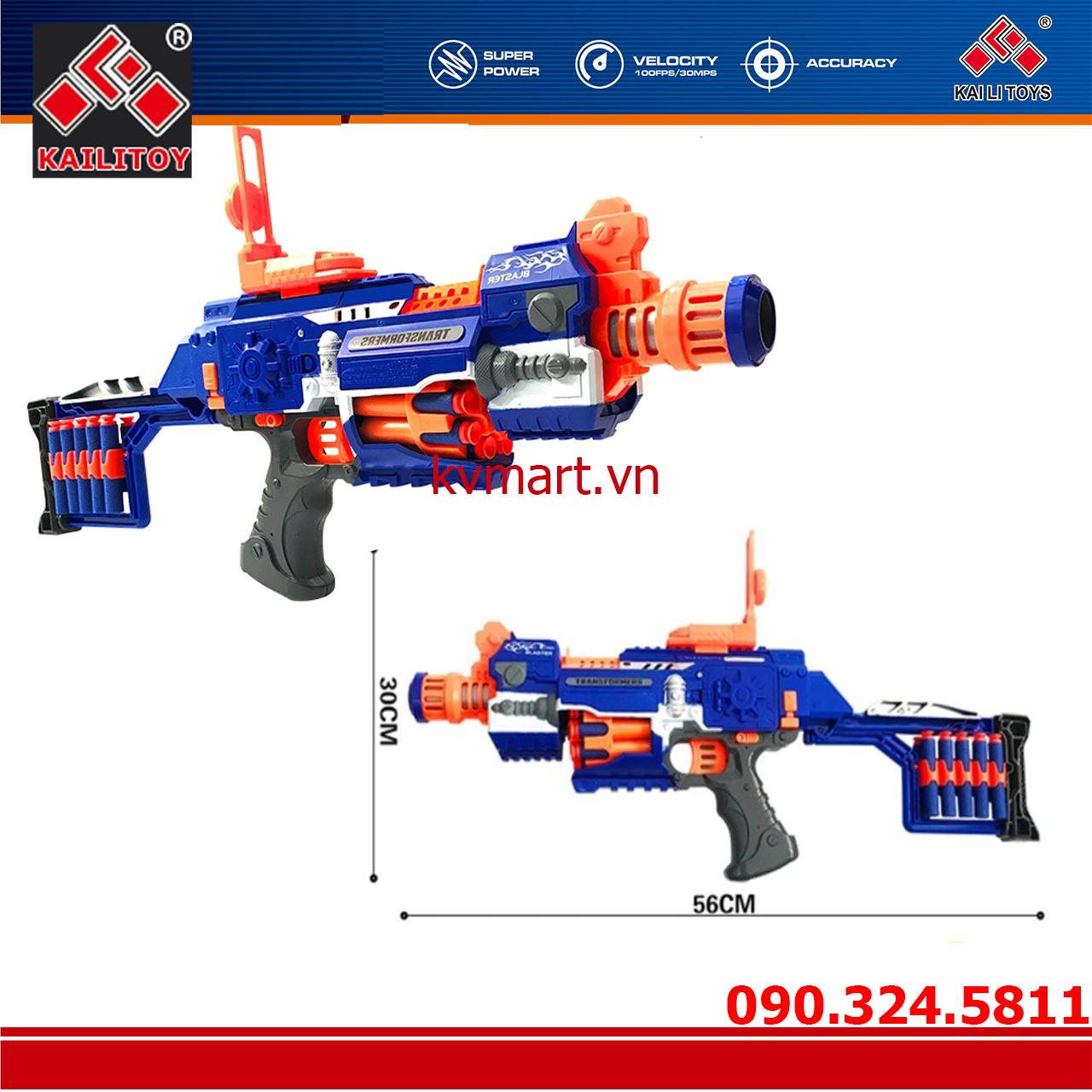 Đồ chơi súng bắn đạn xốp mút kính - Blaster SB238