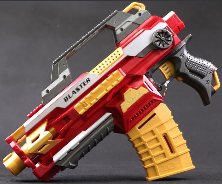 Đồ chơi vận động súng bắn đạn xốp mút kính - Blaster SB381