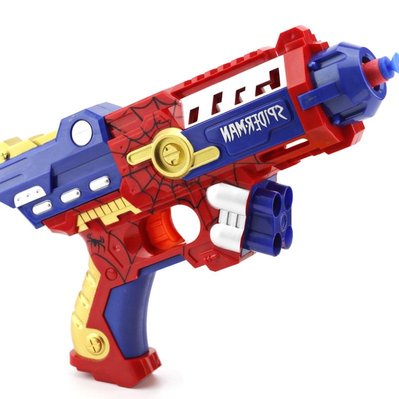 Đồ chơi súng bắn đạnxốp SPIDERMAN - SB354