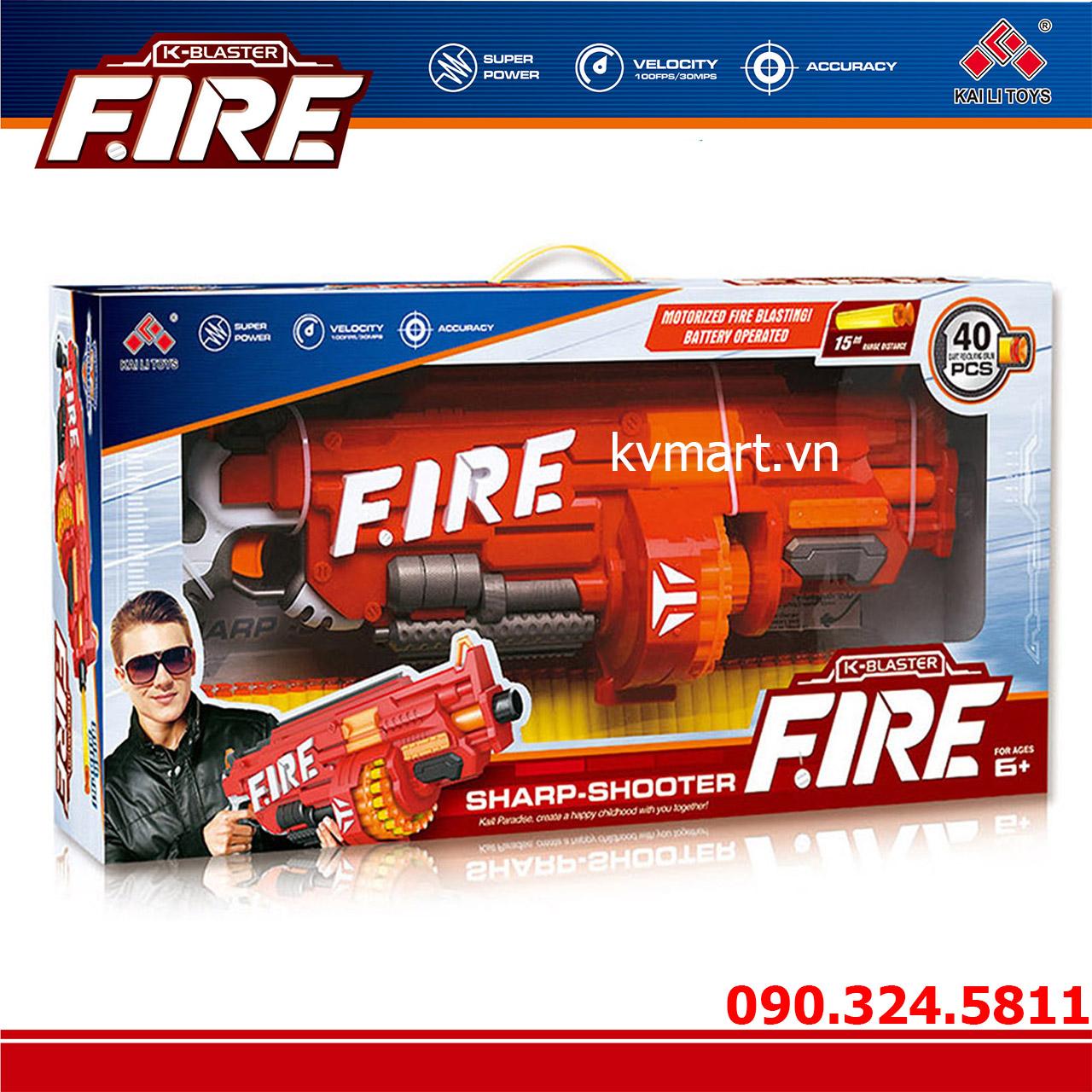 Đồ chơi súng bắn đạn xốp mút kính - SB486
