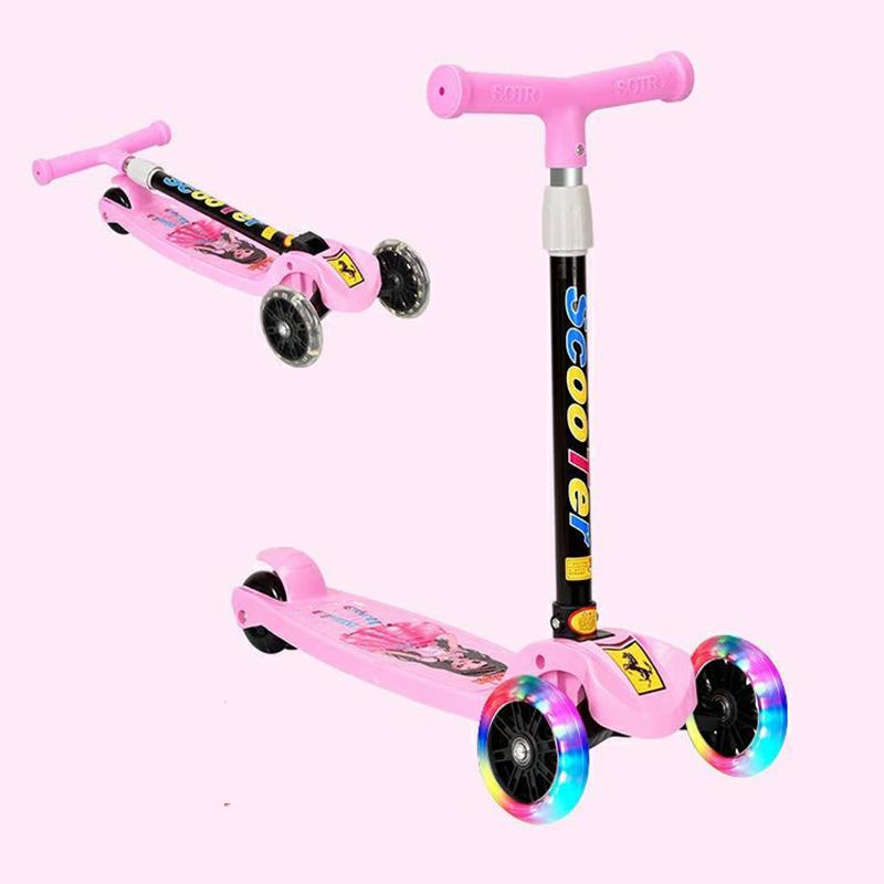 Xe trượt Scooter ba bánh có đèn