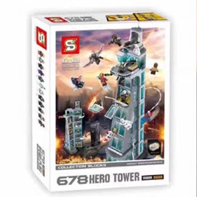 LẮP RÁP SUPER HEROES SH678