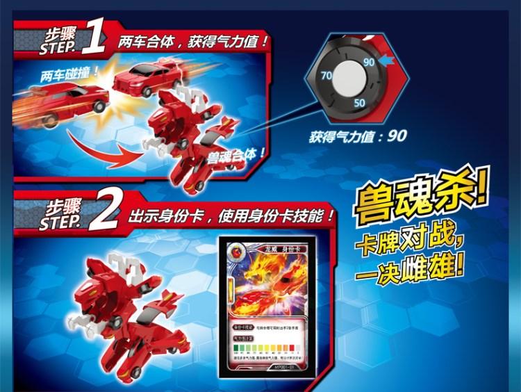 Siêu Xe Biến Hình - Superkar Dragon Bão Lửa 530101