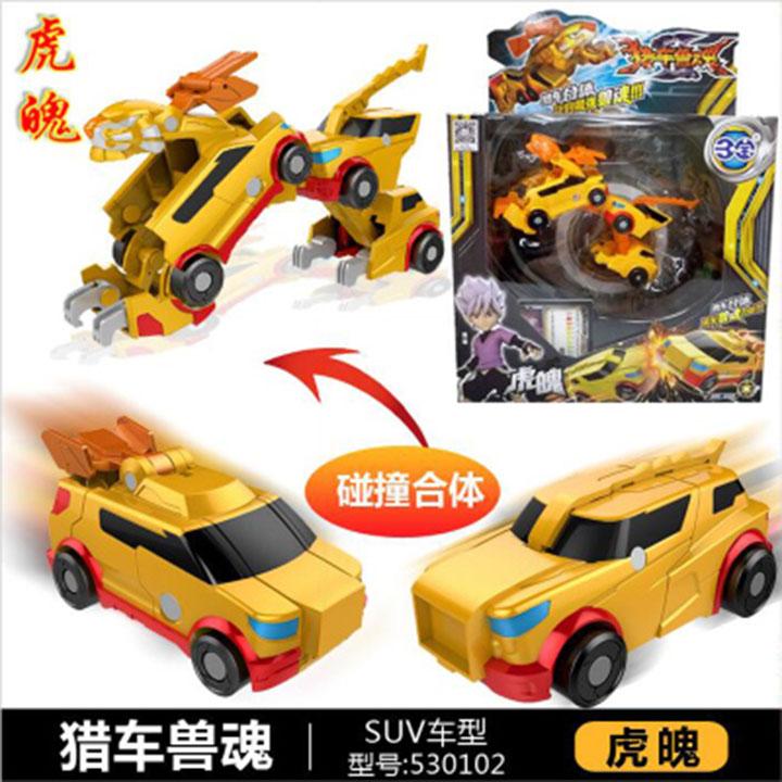 Siêu Xe Biến Hình - Superkar Wild Tiger Hoàng Kim 530102