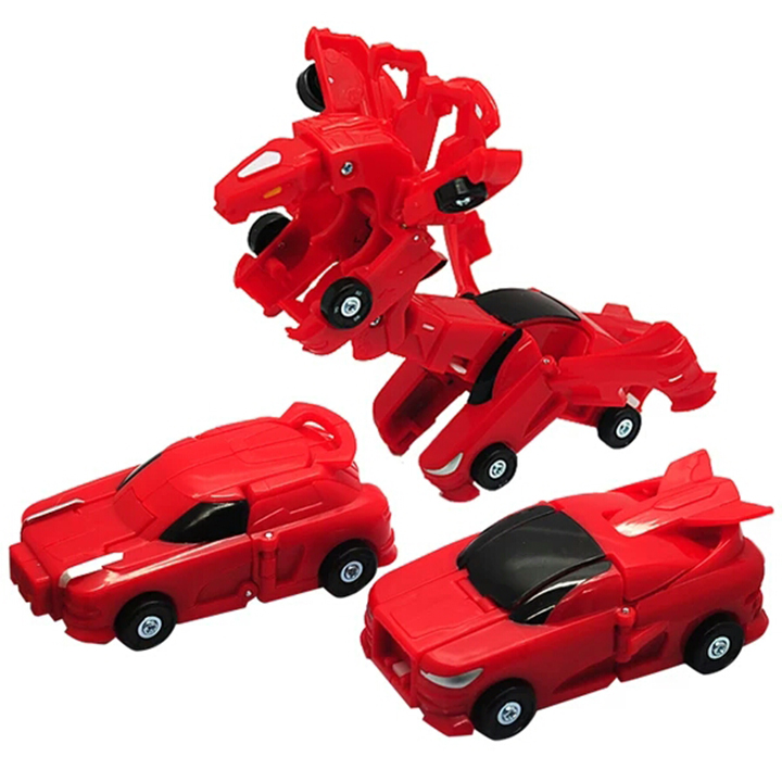 Bộ 2 Siêu Xe Biến Hình - Superkar Dragon Bão Lửa và Wolf